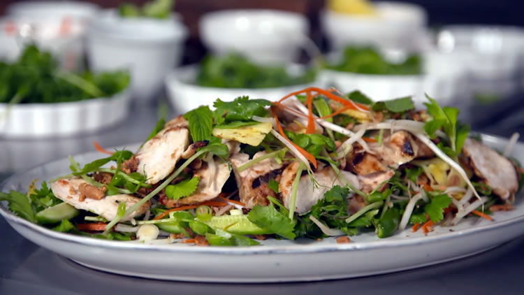 Nam Jim Chicken Salad with Pin