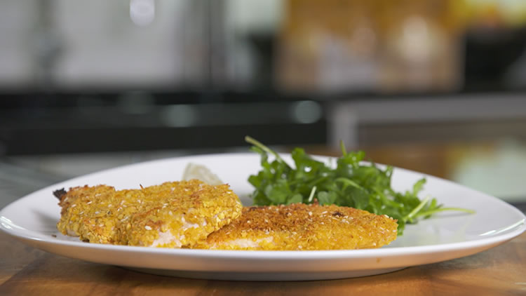 Chicken Schnitzel - A family Favourite with a  twist