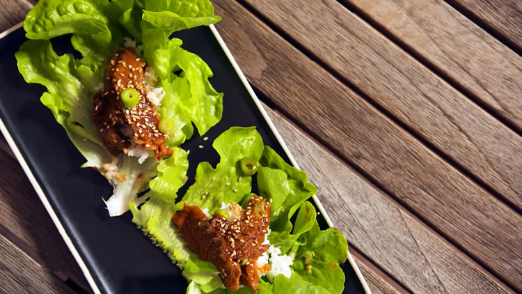 Korean Beef Lettuce Cups